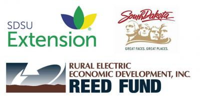 logos of the three sponsors for the Agritourism event