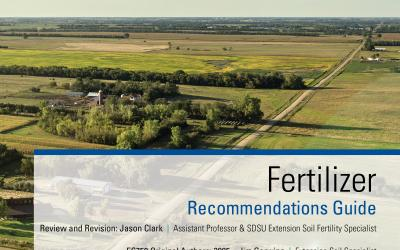 an image of the cover of the SDSU Extension Fertilizer Recommendations Guide