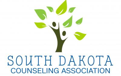 a logo for the SD Counseling Association