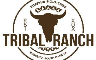 a logo for the Rosebud Sioux Tribal Ranch