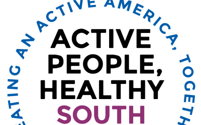 a wordmark for the Active People, Healthy South Dakota program